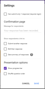 Google FOrms 6