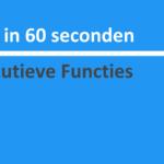 Wijs in 60 seconden: Executieve Functies