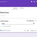 Formatief toetsen met Google Quiz