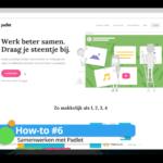 How-to #6: Samenwerken met Padlet